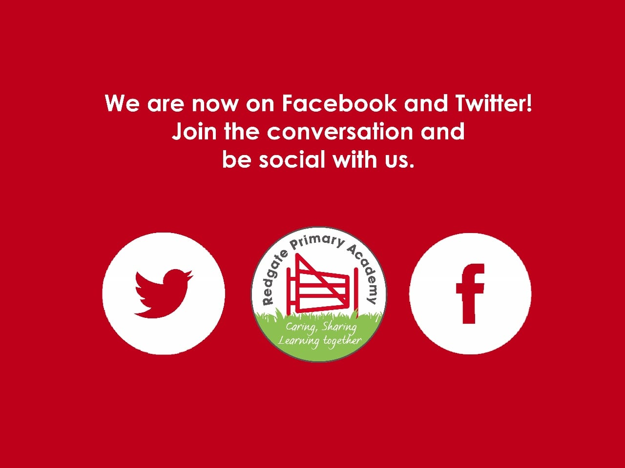 Join us on our social media channels!
