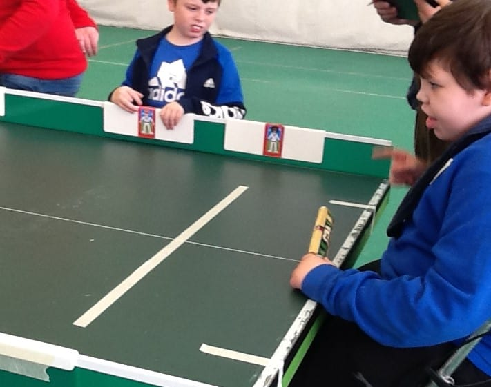 Pupils compete at regional Table Cricket finals